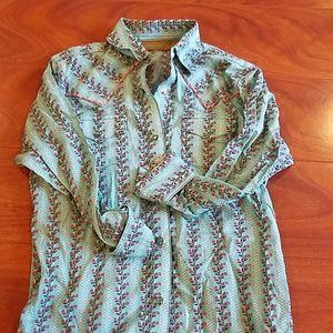 Brand new girls button up shirt